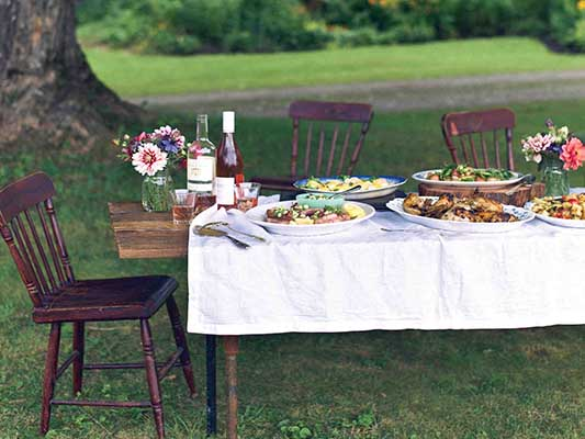 Farm-to-table menus