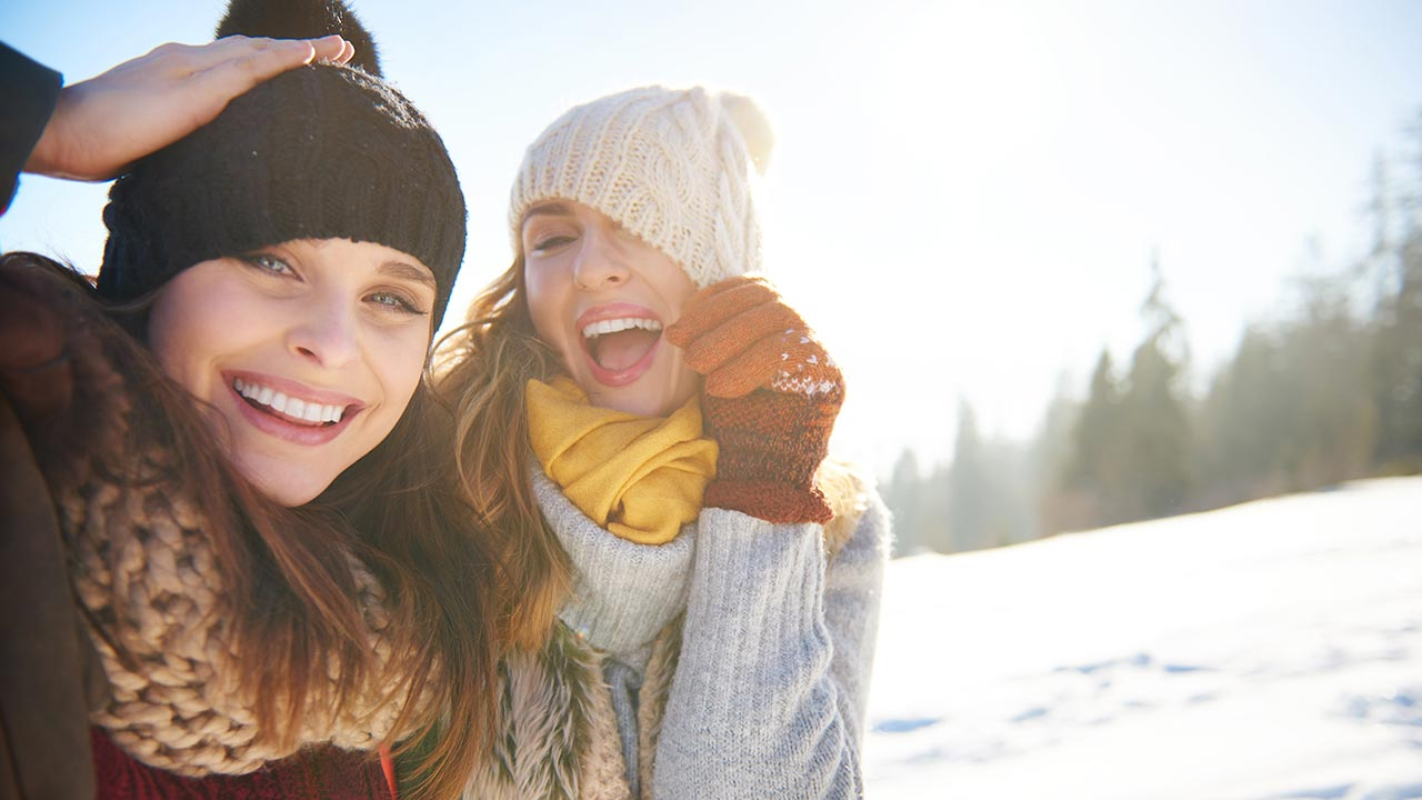 winter skin & hair & skin care
