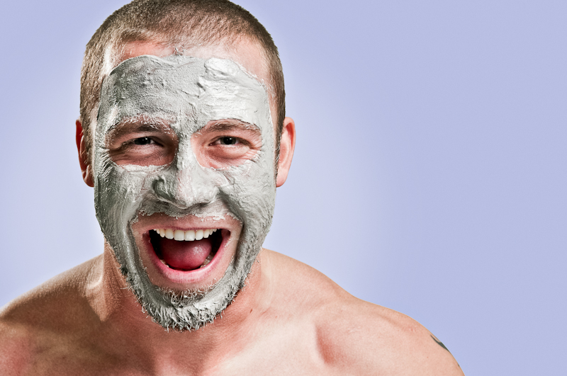 Beauty mask for men
